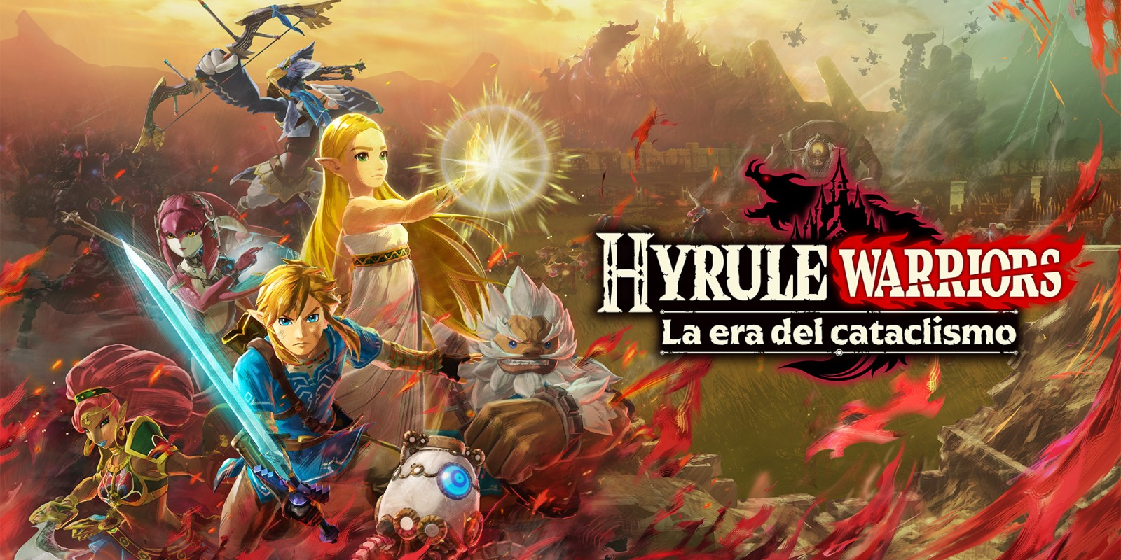 Hyrule Warriors La Era Del Cataclismo Nintendo Switch Juegos Nintendo