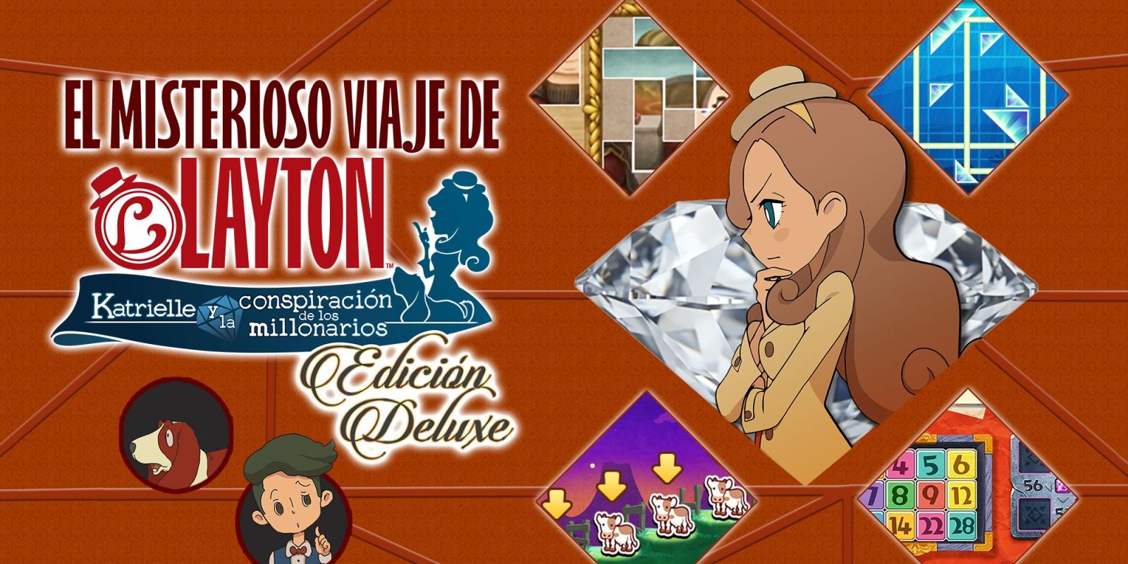 EL MISTERIOSO VIAJE DE LAYTON™: Katrielle y la conspiración de los millonarios - Edición Deluxe