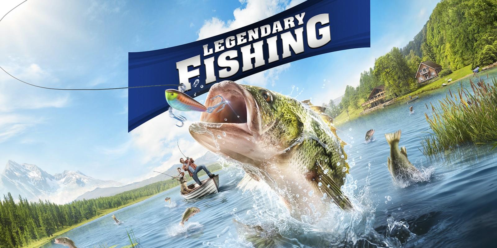 Legendary Fishing Nintendo Switch Games Nintendo