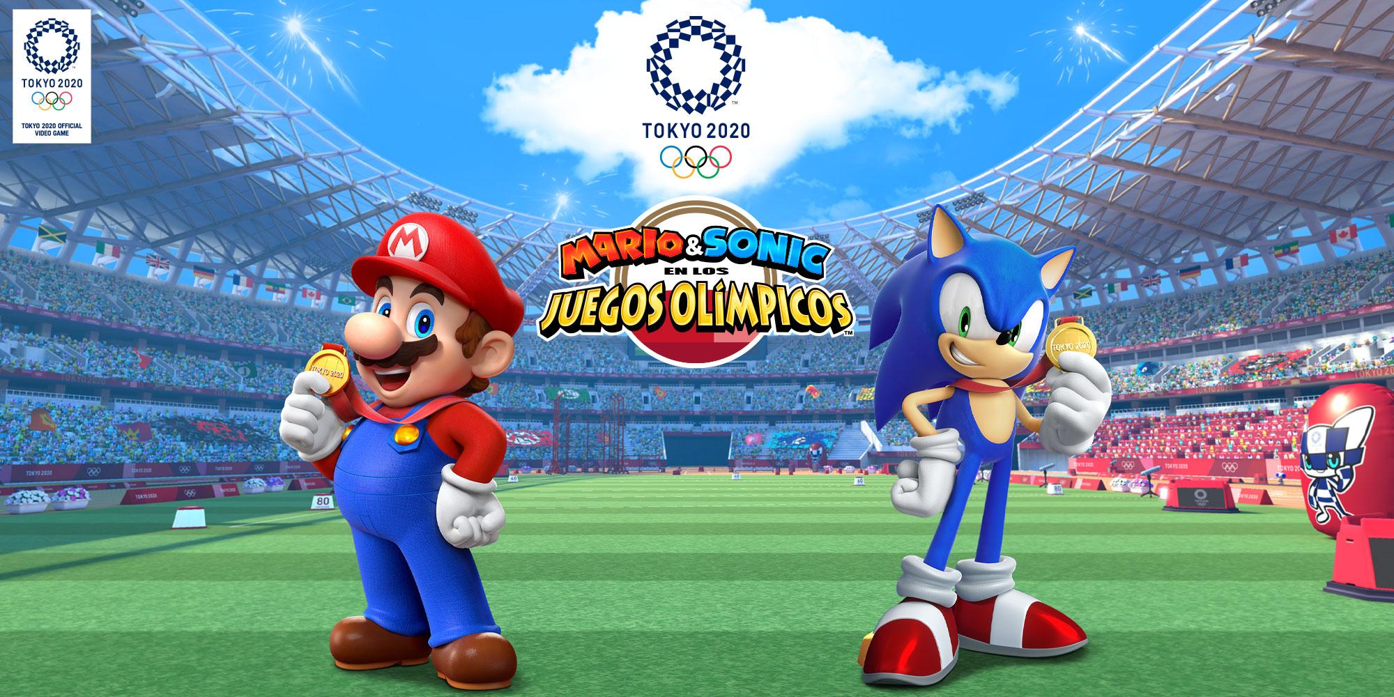 Mario Sonic En Los Juegos Olímpicos Tokio 2020 Nintendo Switch Juegos Nintendo