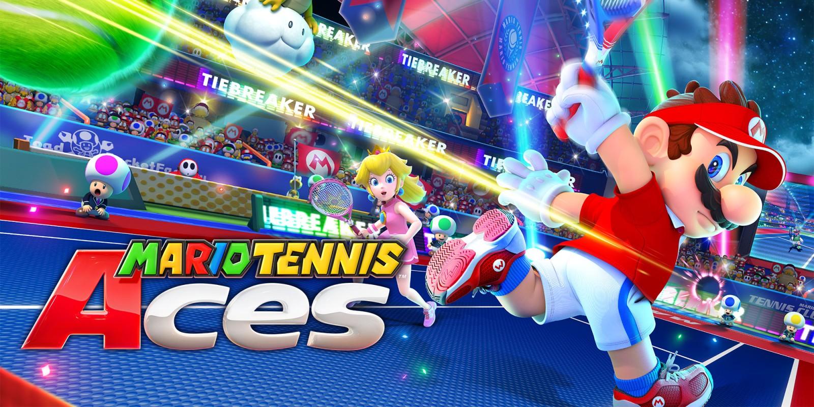 Resultado de imagen de portada Mario Tennis Aces nintendo switch