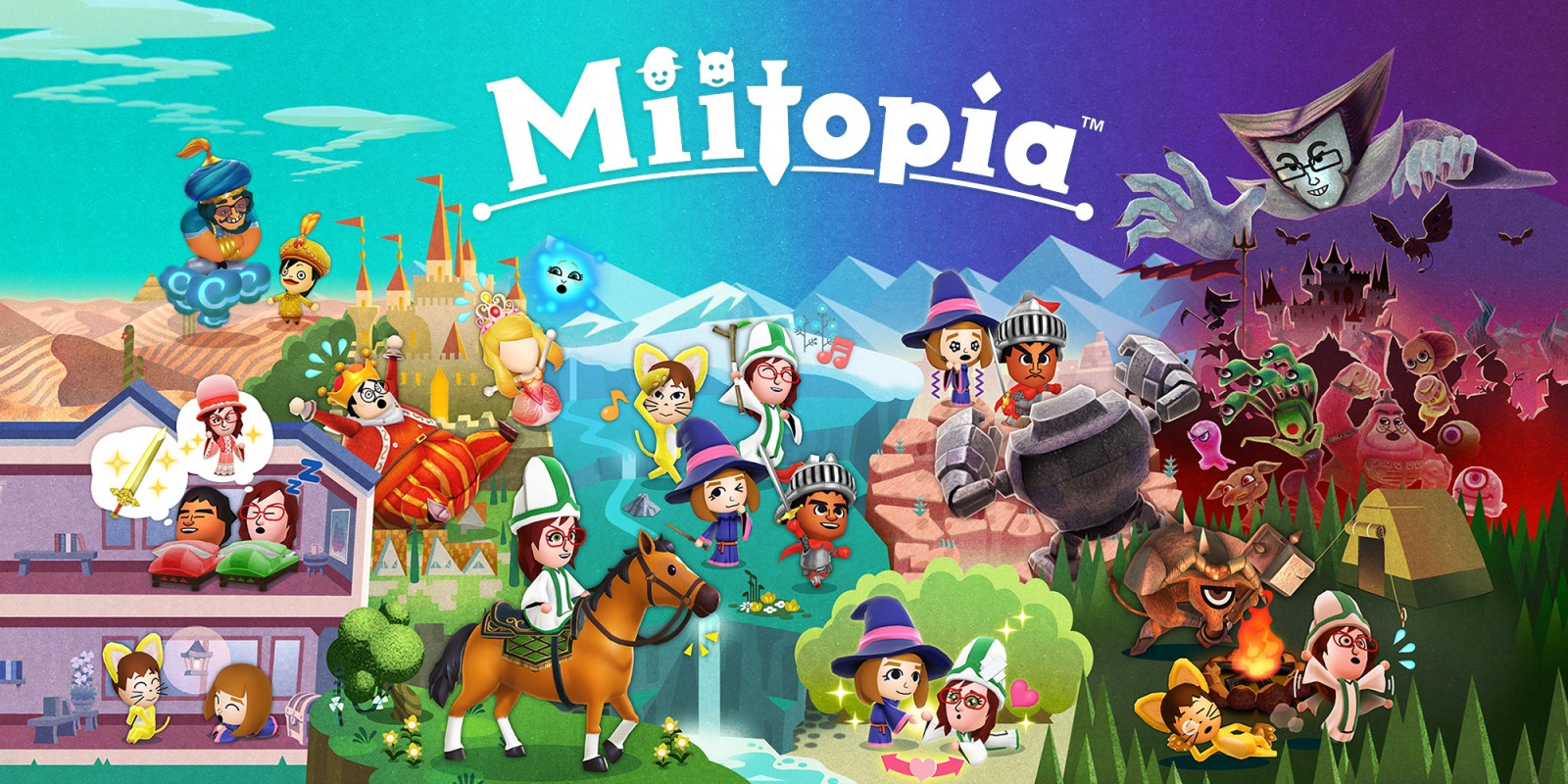 Miitopia | Nintendo Switch | Games | Nintendo