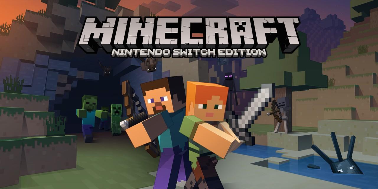 Minecraft: Nintendo Switch Edition  Nintendo Switch  Jogos