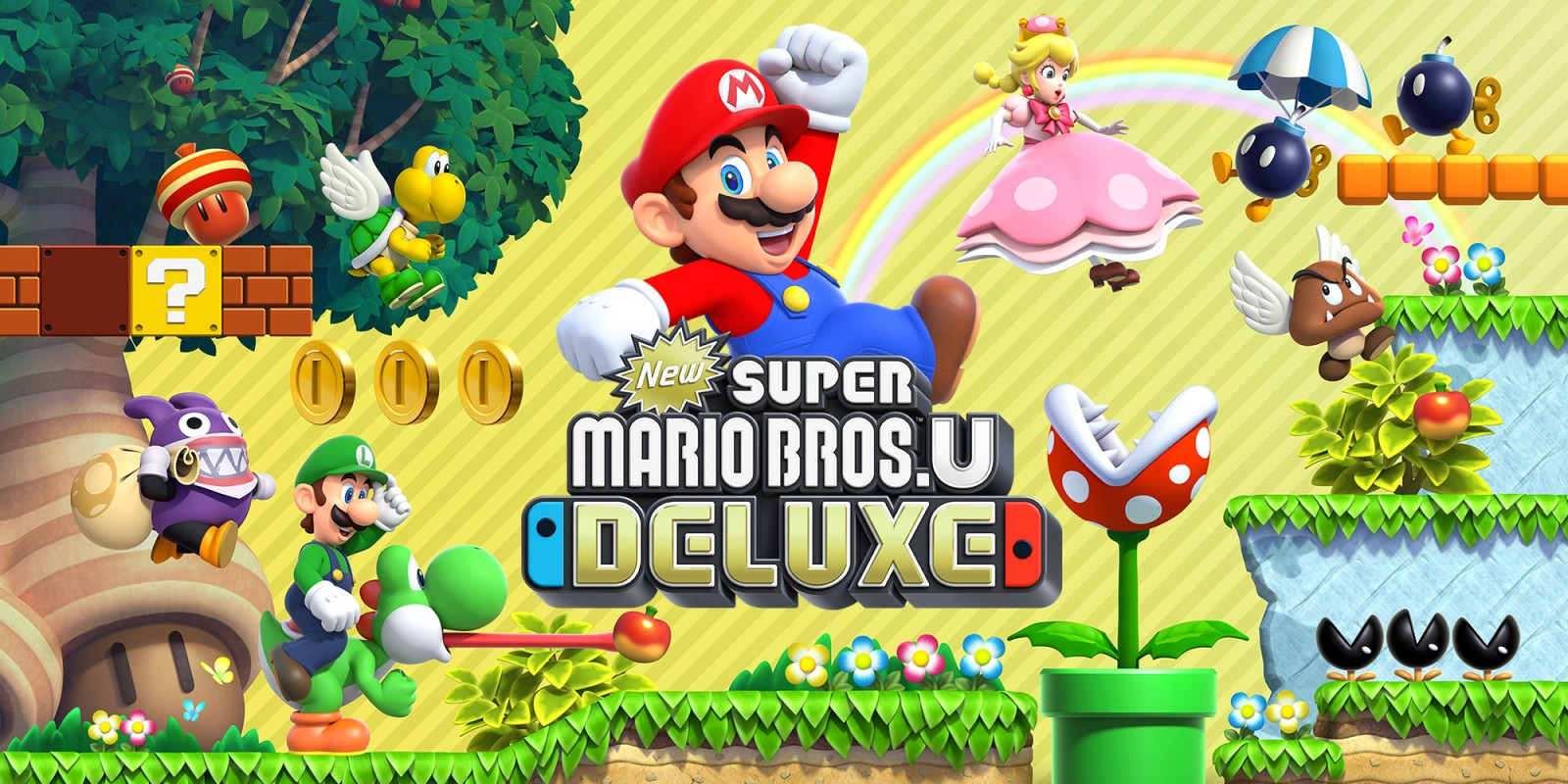 New Super Mario Bros U Deluxe Nintendo Switch Juegos Nintendo