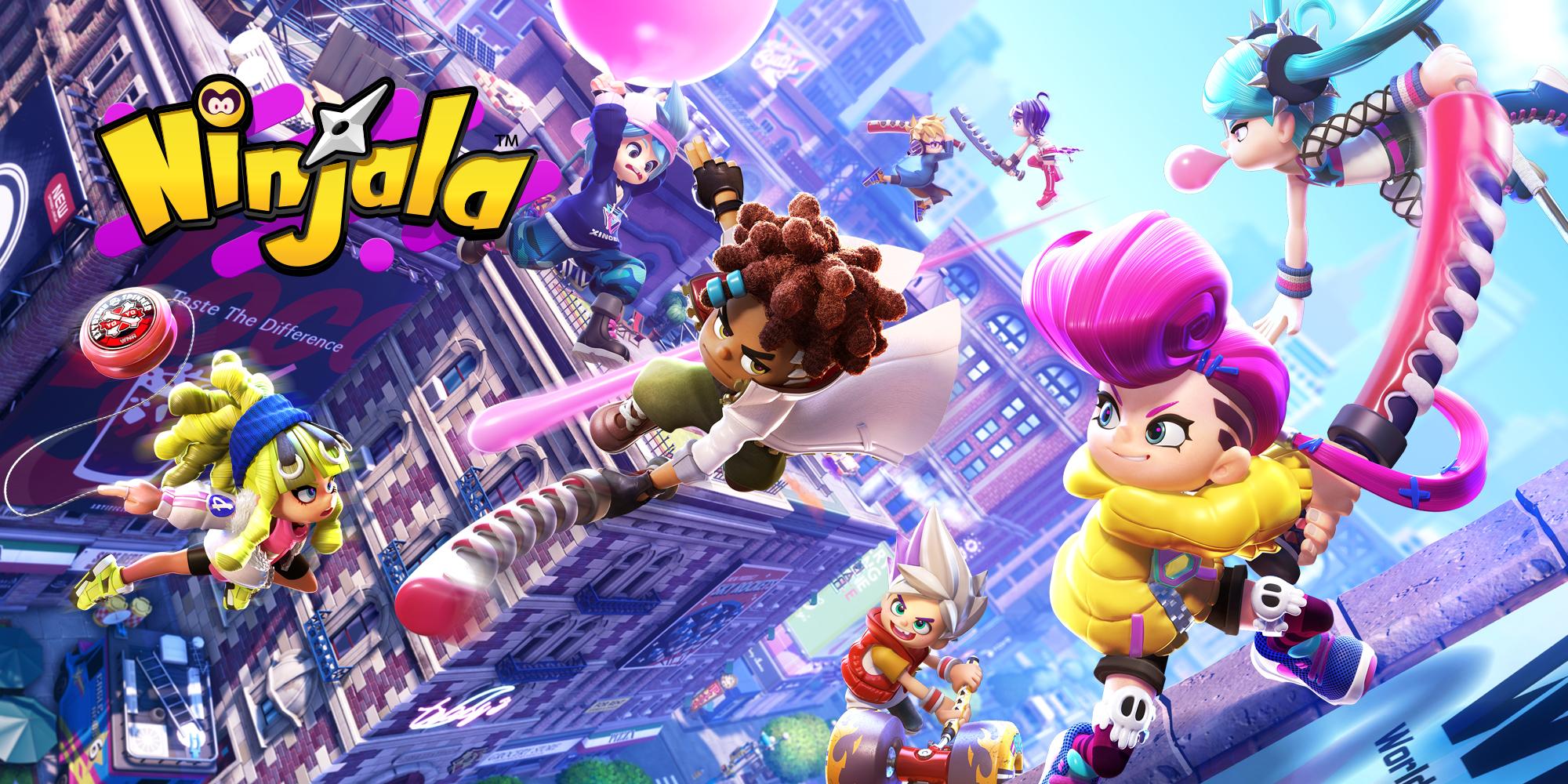 Ninjala | Programas descargables Nintendo Switch | Juegos | Nintendo