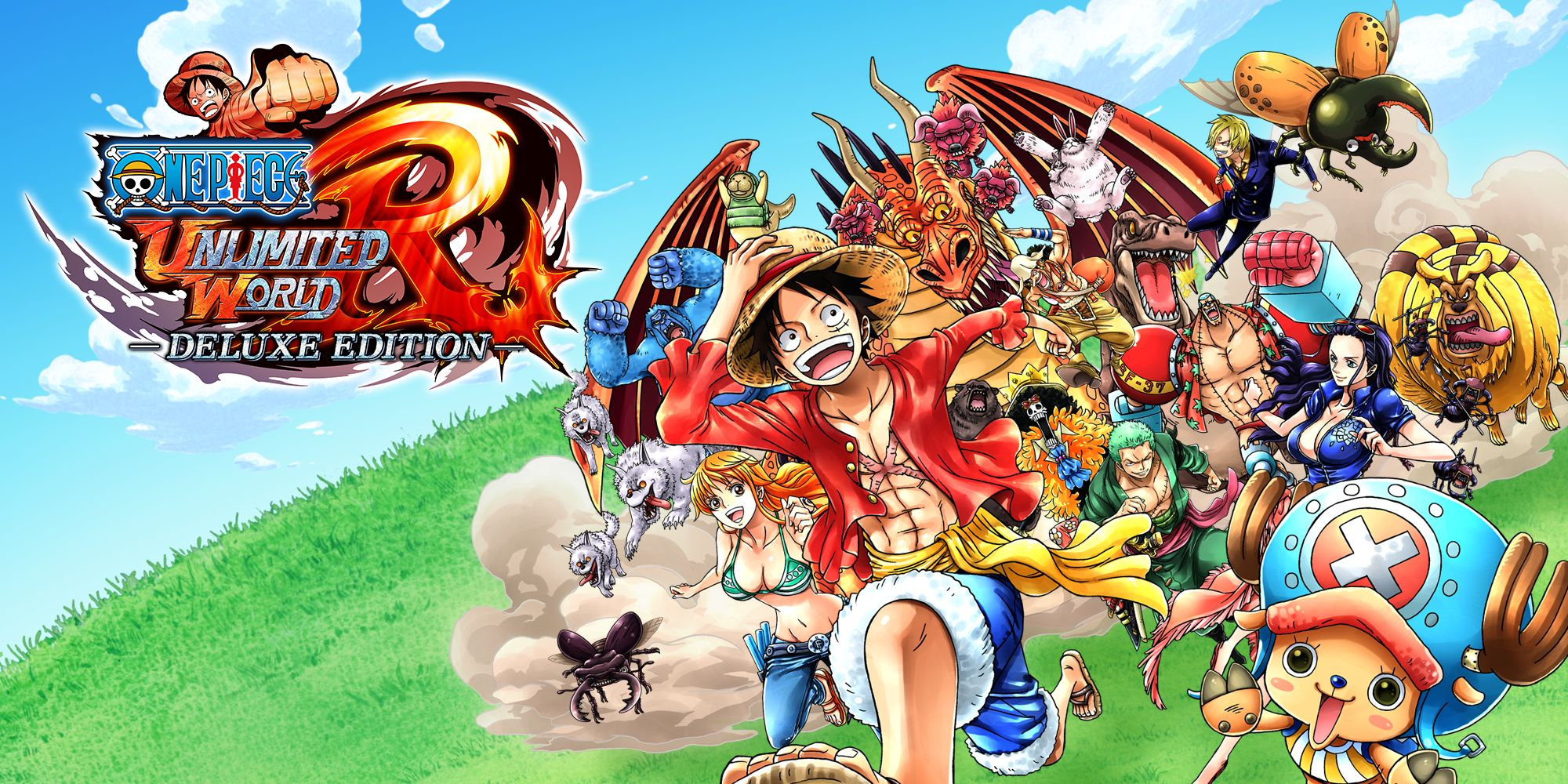 One Piece: Unlimited World Red - Deluxe Edition   Nintendo Switch ...