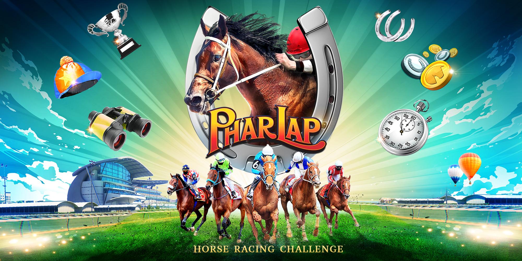 Phar Lap Horse Racing Challenge Nintendo Switch Games Nintendo