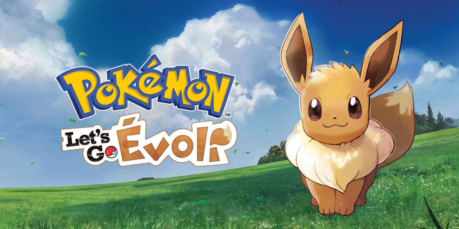 vente discount Super remise haut de gamme authentique Pokémon : Let's Go, Évoli | Nintendo Switch | Jeux | Nintendo