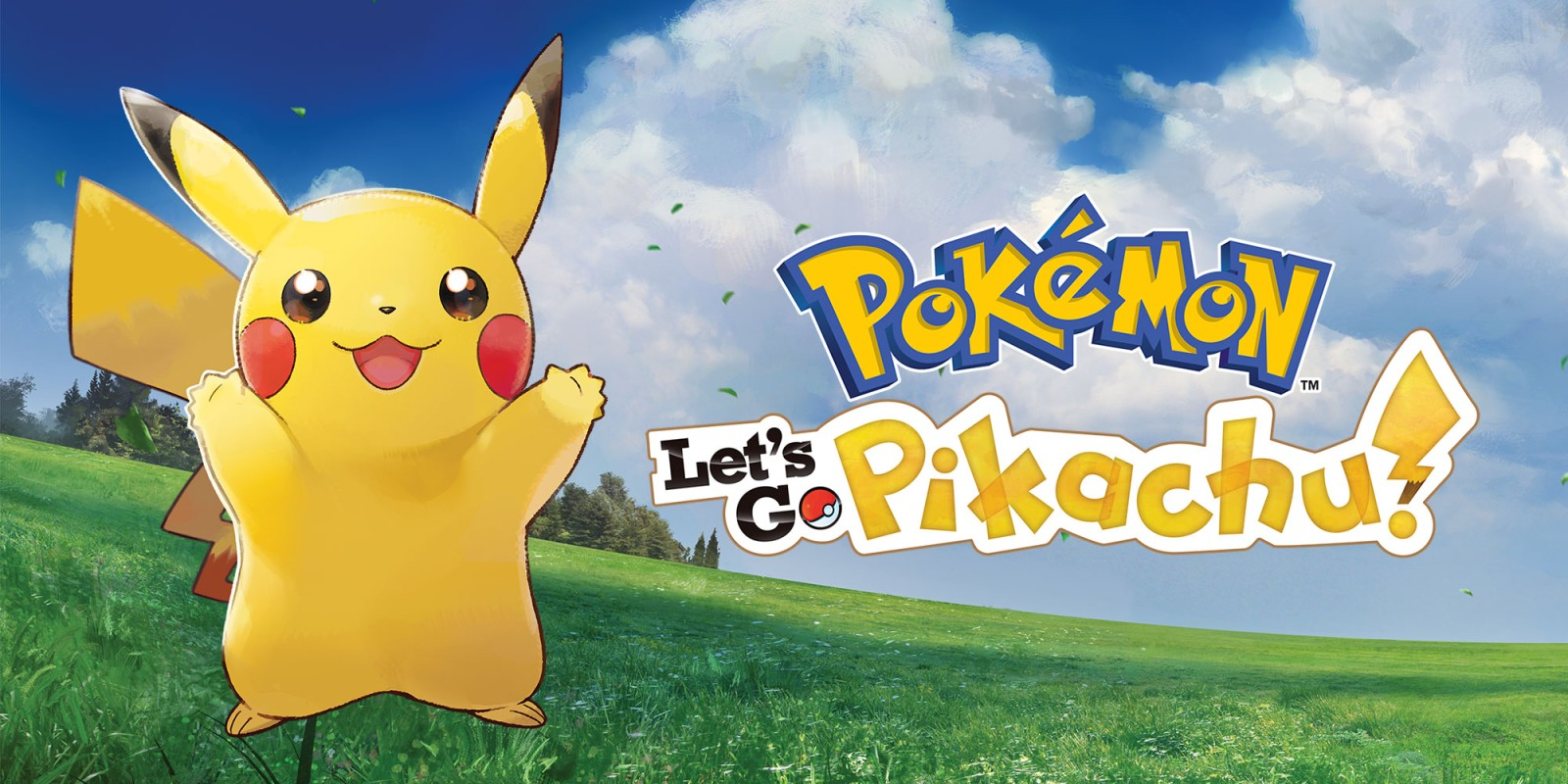 pokémon: let's go, pikachu! | nintendo switch | games | nintendo