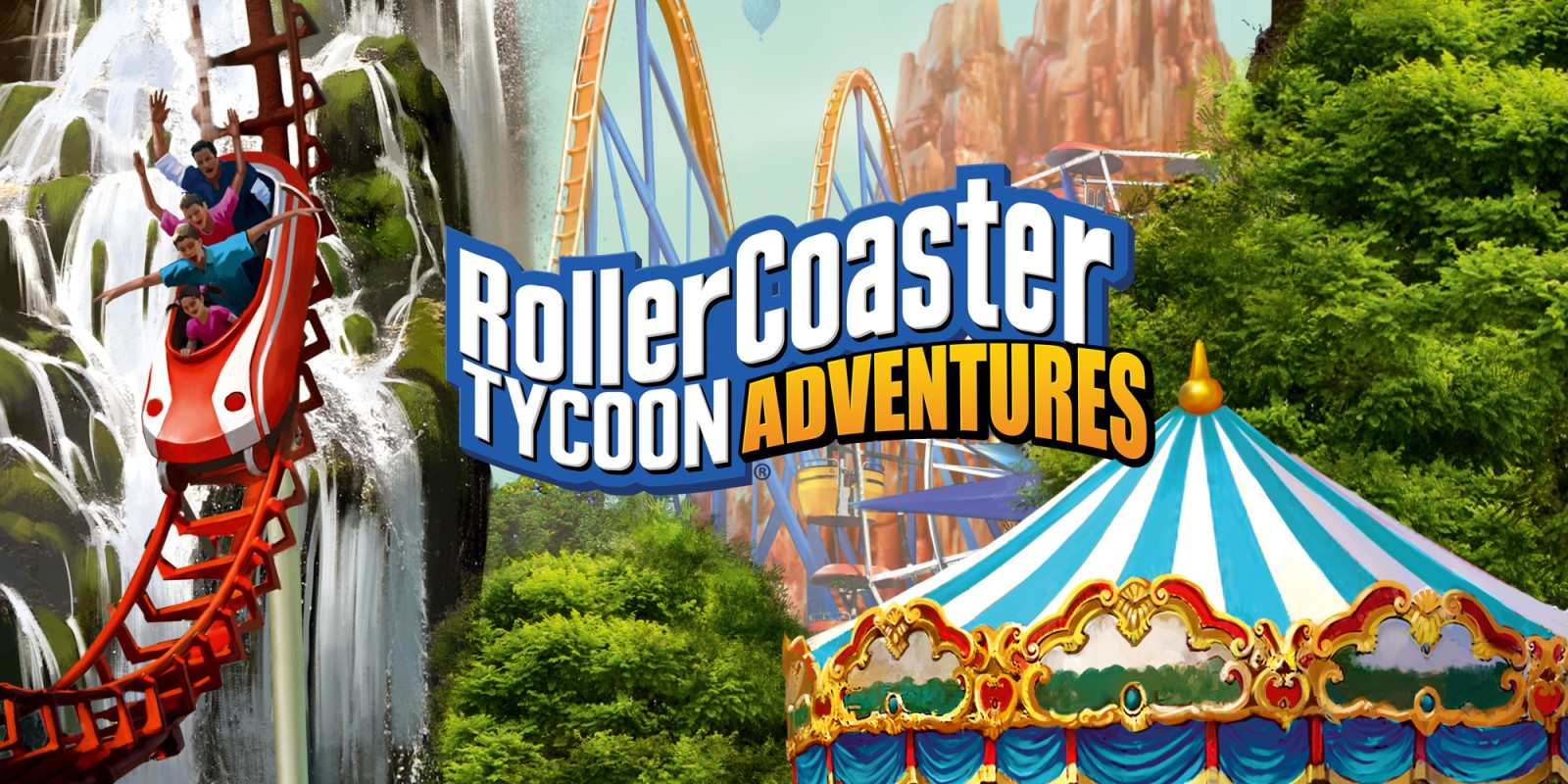 RollerCoaster Tycoon Adventures | Nintendo Switch | Games