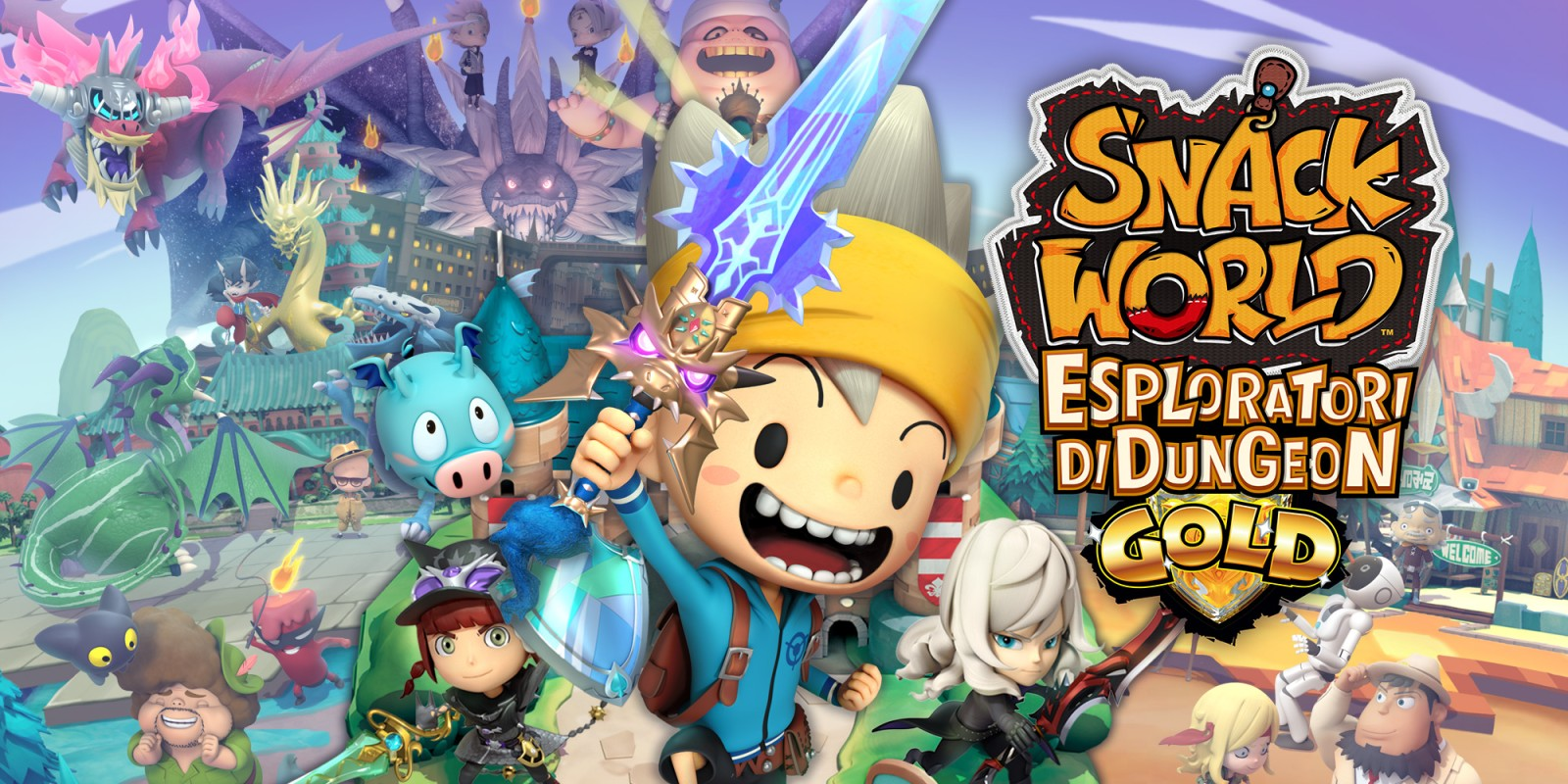 SNACK WORLD: ESPLORATORI DI DUNGEON – GOLD
