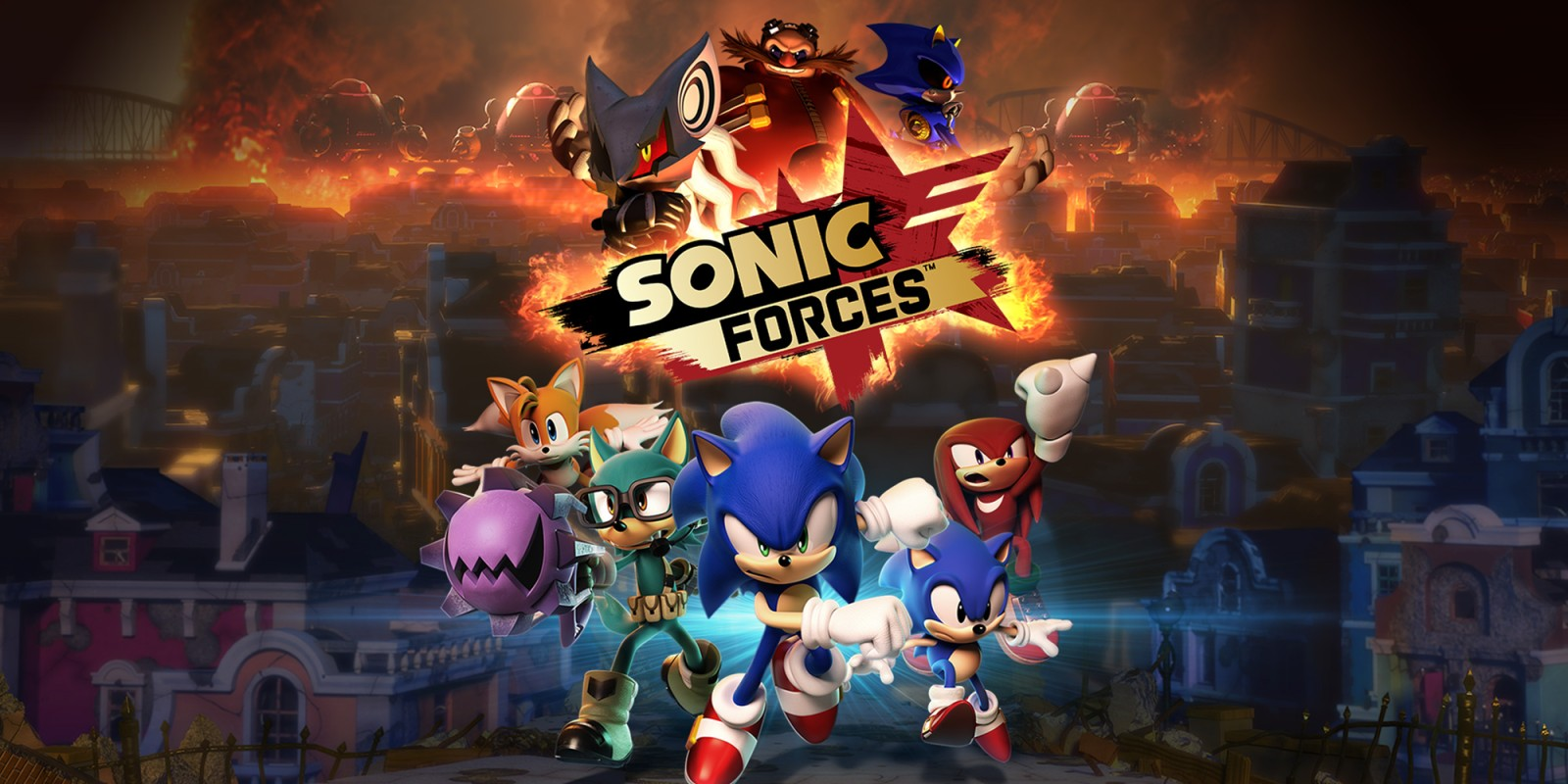 Image result for Nintendo Switch Sonic Forces Bonus Edition