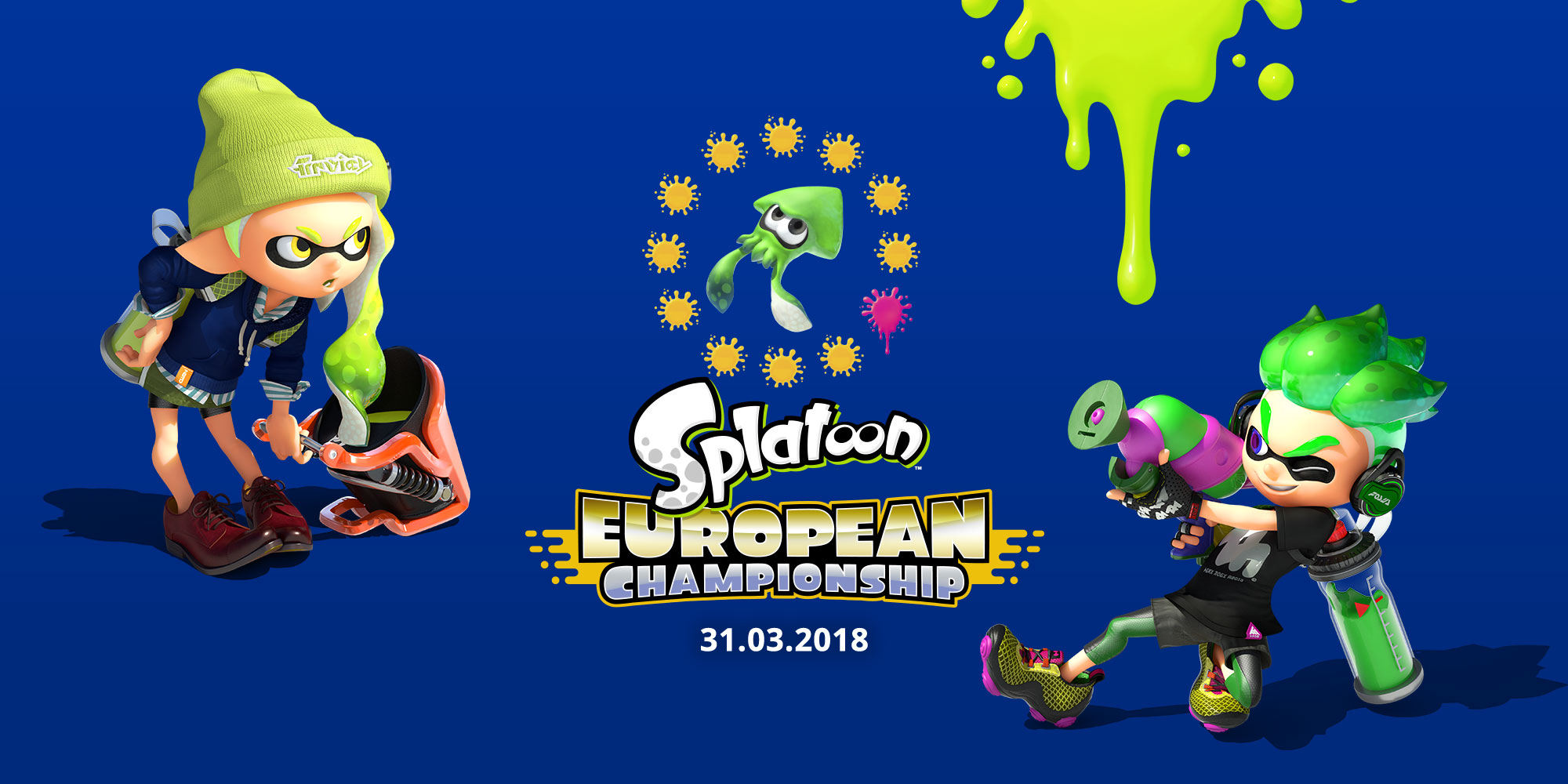 Catch up on the Splatoon European Championship in our extended highlights reel!