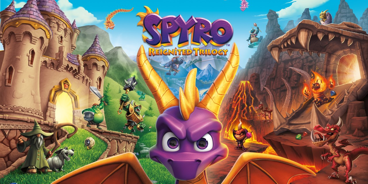 spyro� reignited trilogy nintendo switch games nintendo