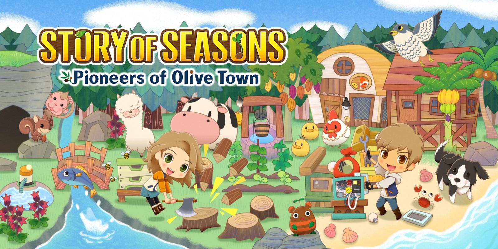 STORY OF SEASONS: Pioneers of Olive Town | Nintendo Switch | Giochi |  Nintendo