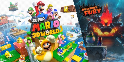 Jouez ensemble dans Super Mario 3D World + Bowser's Fury !