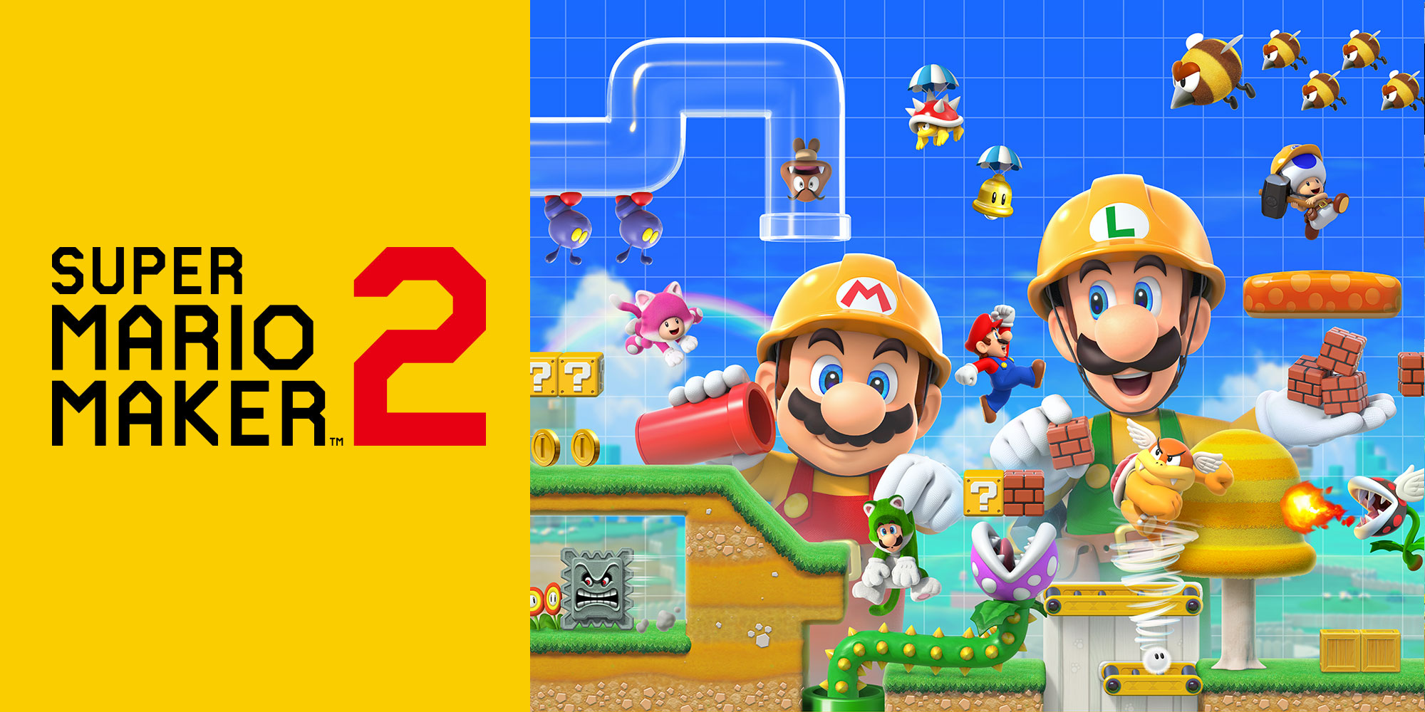 Check out Super Mario Maker 2's Story Mode and more with Nintendo Treehouse: Live