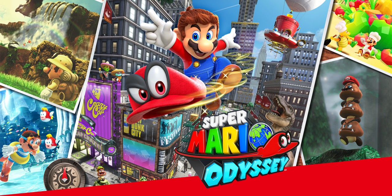 Super Mario Odyssey Nintendo Switch Jeux Nintendo