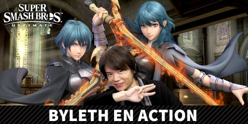 Byleth, de Fire Emblem: Three Houses, rejoint Super Smash Bros. Ultimate le 29 janvier !