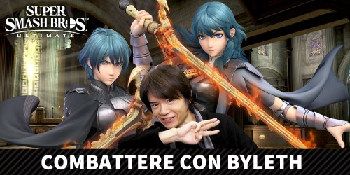 Byleth di Fire Emblem: Three Houses si unisce a Super Smash Bros. Ultimate il 29 gennaio