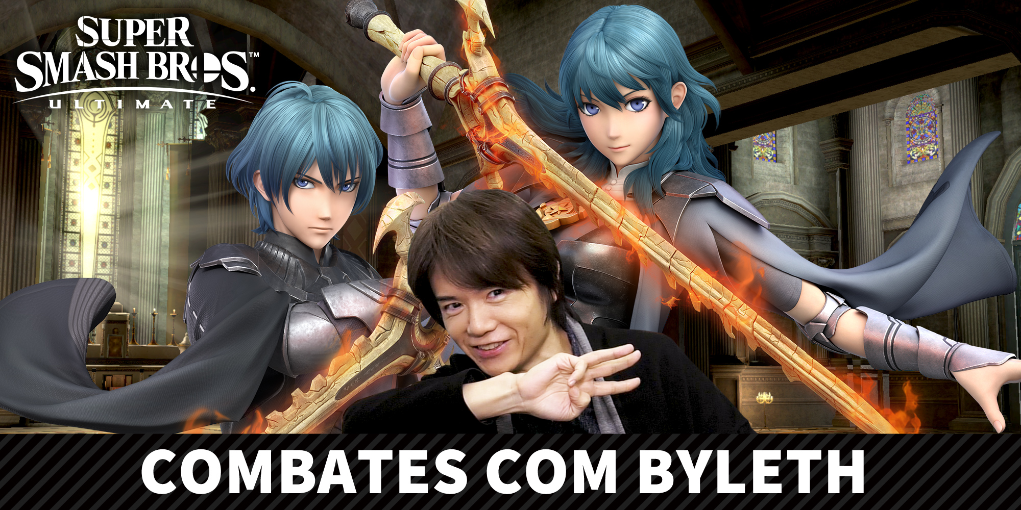 Byleth, de Fire Emblem: Three Houses, chega a Super Smash Bros. Ultimate no dia 29 de janeiro!
