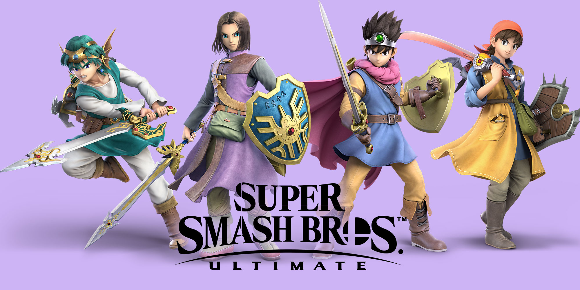 De held uit DRAGON QUEST komt naar Super Smash Bros. Ultimate op 31 juli!