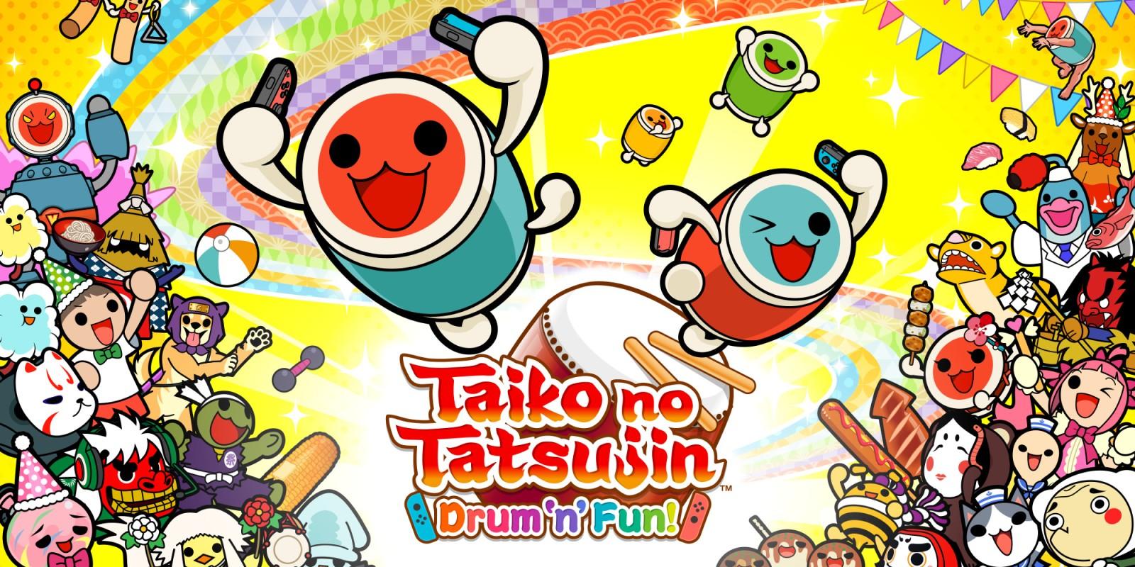 نتيجة بحث الصور عن Taiko no Tatsujin: Drum 'n' Fun