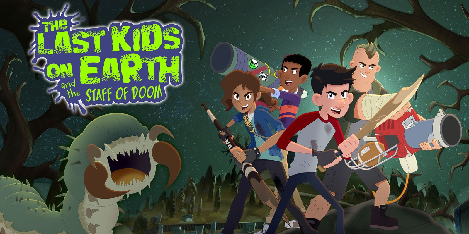 The Last Kids on Earth and the Staff of Doom | Nintendo Switch | Jogos |  Nintendo