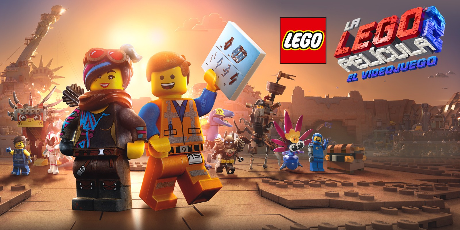 Resultado de imagen de La LEGO Película 2 El Videojuego