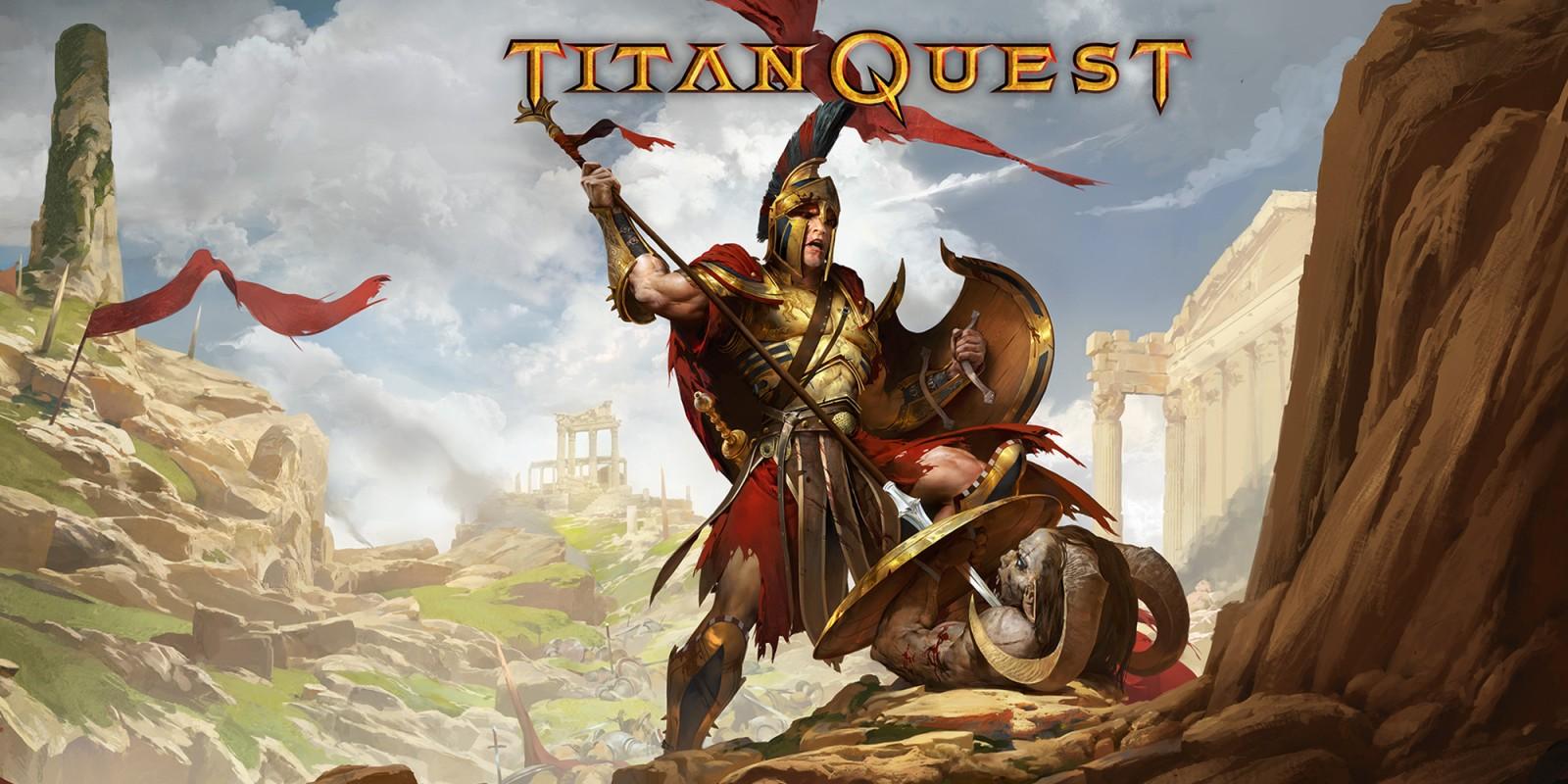 Titan Quest inspirado en la mitología.