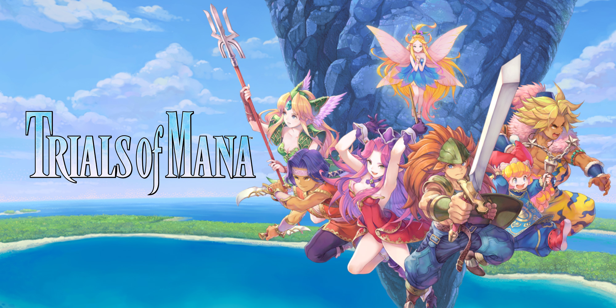 Descubrid la magia de TRIALS of MANA con Nintendo Treehouse: Live. ¡El juego estará disponible para Nintendo Switch en 2020!