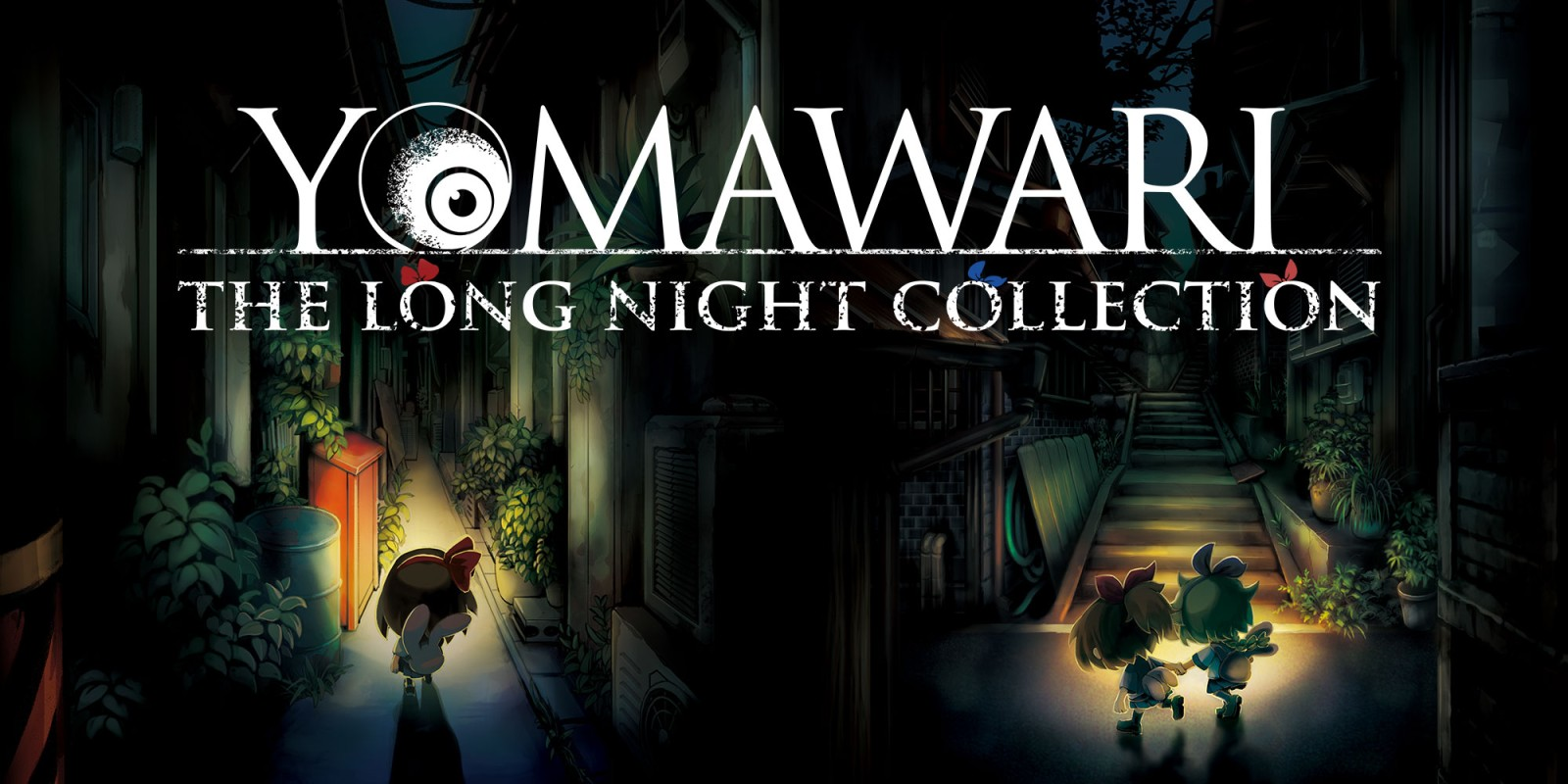 Resultado de imagen de portada Yomawari: The Long Night Collection nintendo switch