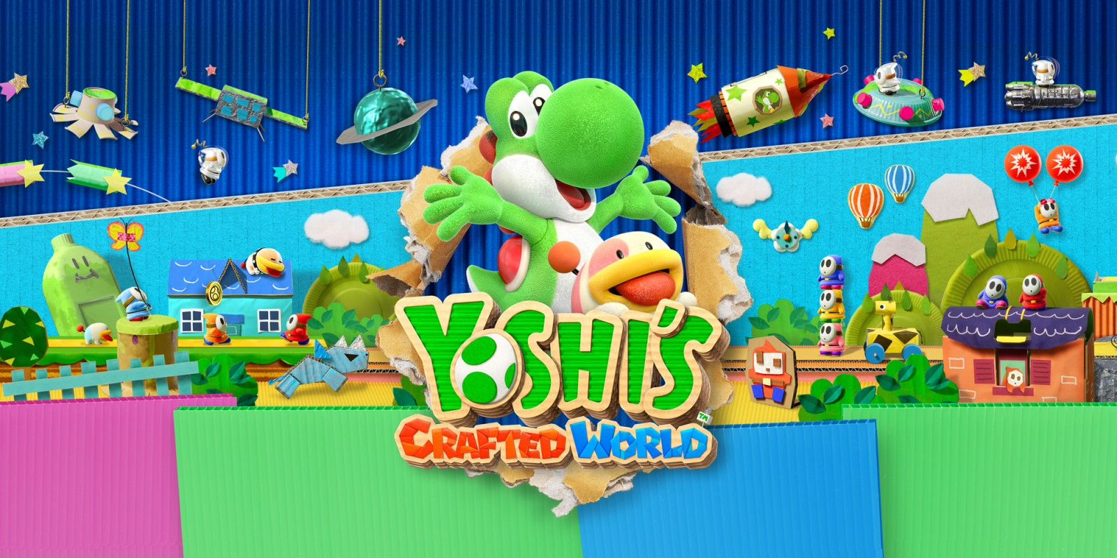 Yoshi S Crafted World Nintendo Switch Juegos Nintendo
