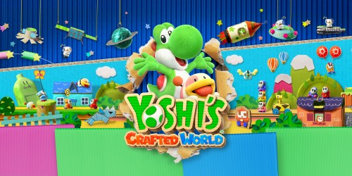 Yoshi's Crafted World for Nintendo Switch and Kirby's Epic Yarn for Nintendo 3DS family systems both launch in March 2019