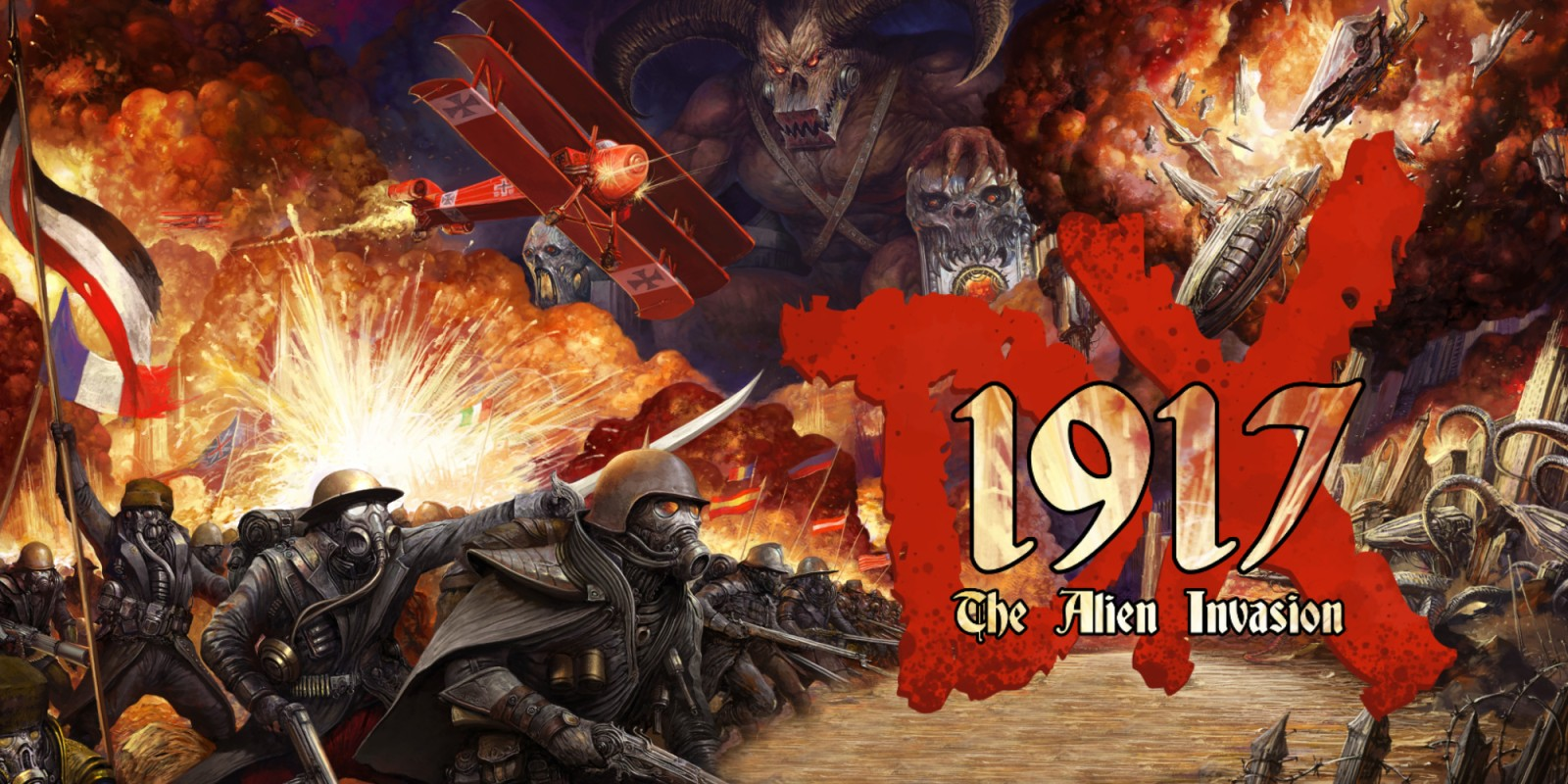 1917 The Alien Invasion Dx Nintendo Switch Download