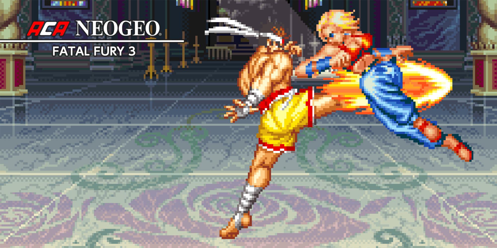 Aca Neogeo Fatal Fury 3 Nintendo Switch Download Software