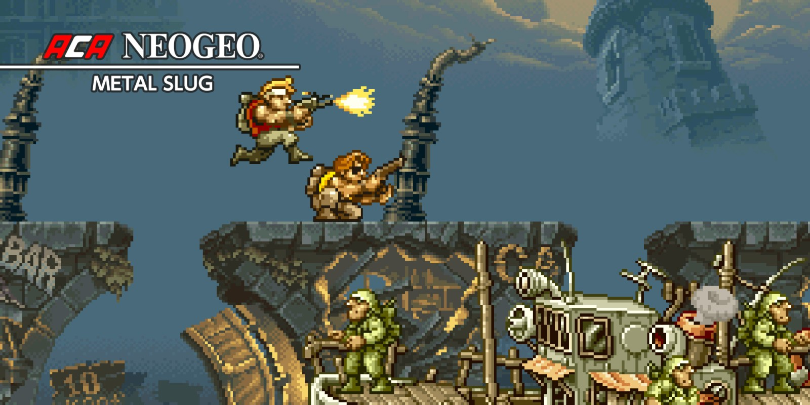 Aca Neogeo Metal Slug Nintendo Switch Download Software