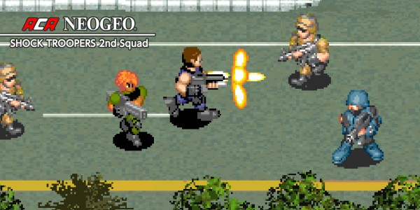 ACA NEOGEO SHOCK TROOPERS 2nd Squad