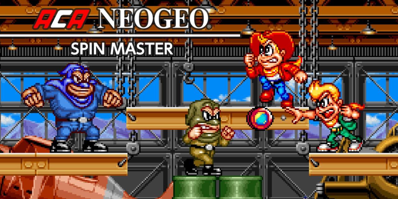 ACA NEOGEO SPIN MASTER Nintendo Switch Download Software