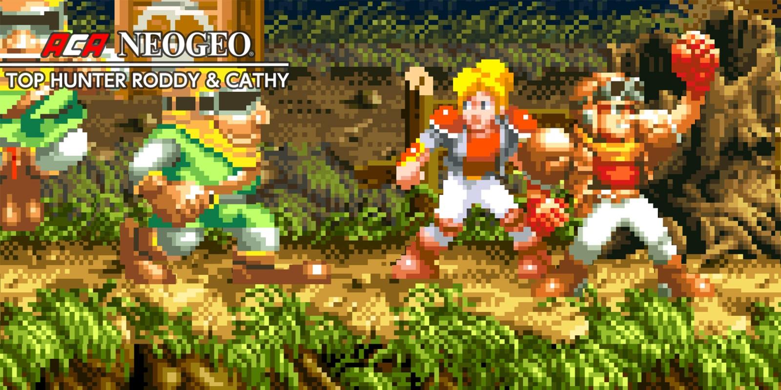 ACA NEOGEO TOP HUNTER RODDY & CATHY | Nintendo Switch