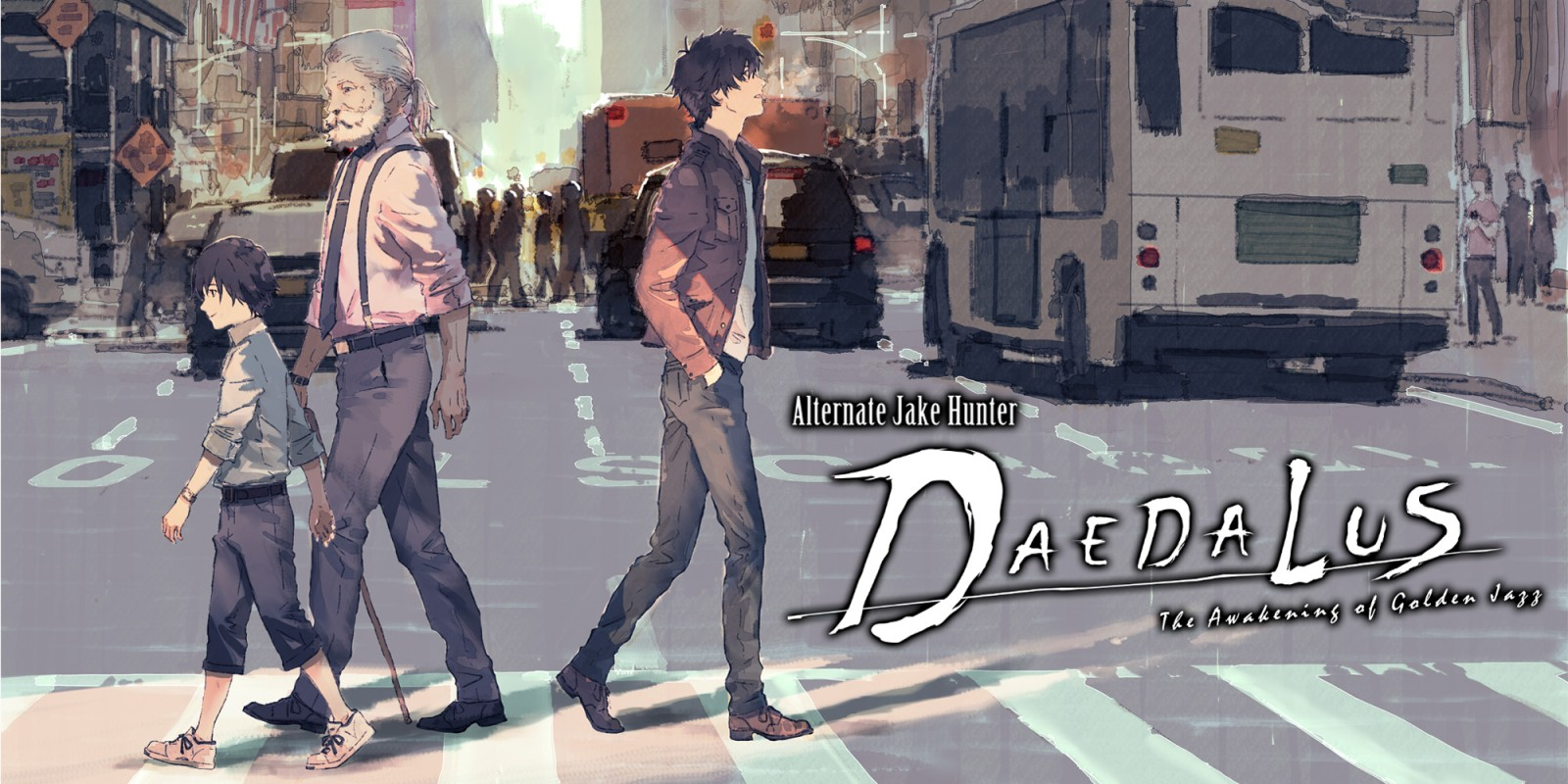 Alternate Jake Hunter: DAEDALUS The Awakening of Golden Jazz