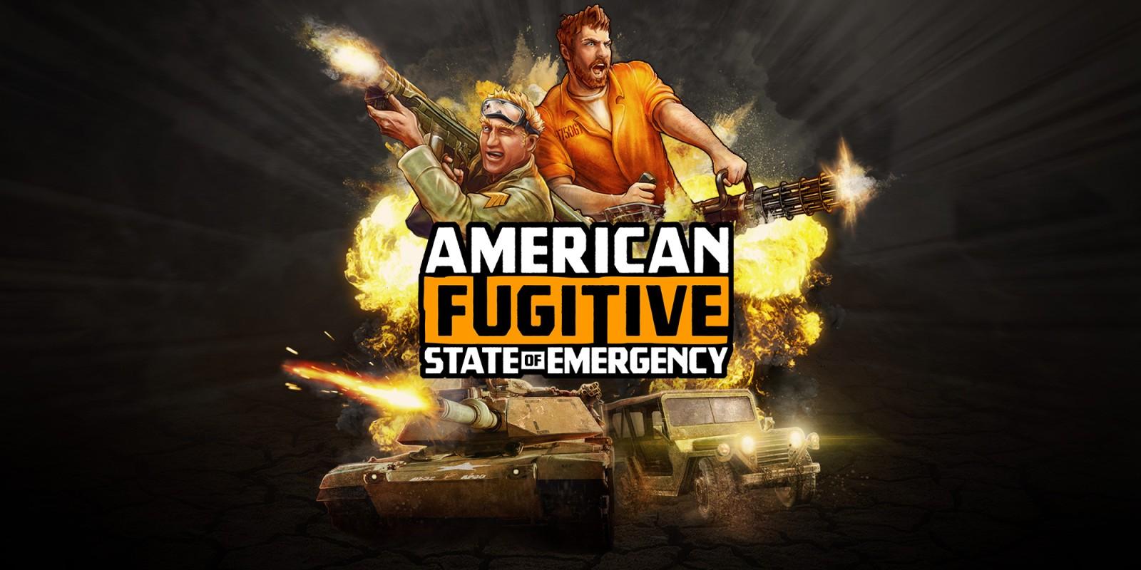 Resultado de imagen de portada American Fugitive nintendo switch