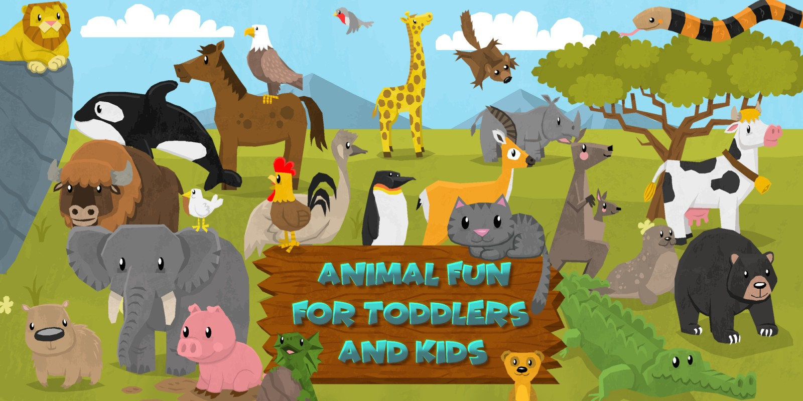 Animal Fun for Toddlers and Kids