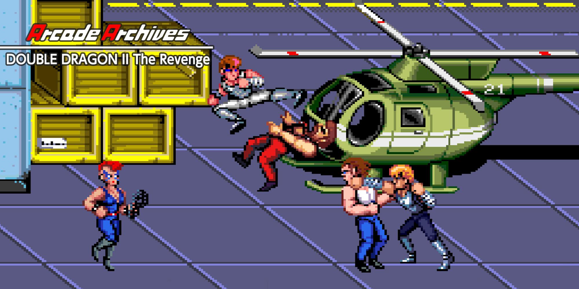 Arcade Archives Double Dragon Ii The Revenge Nintendo Switch