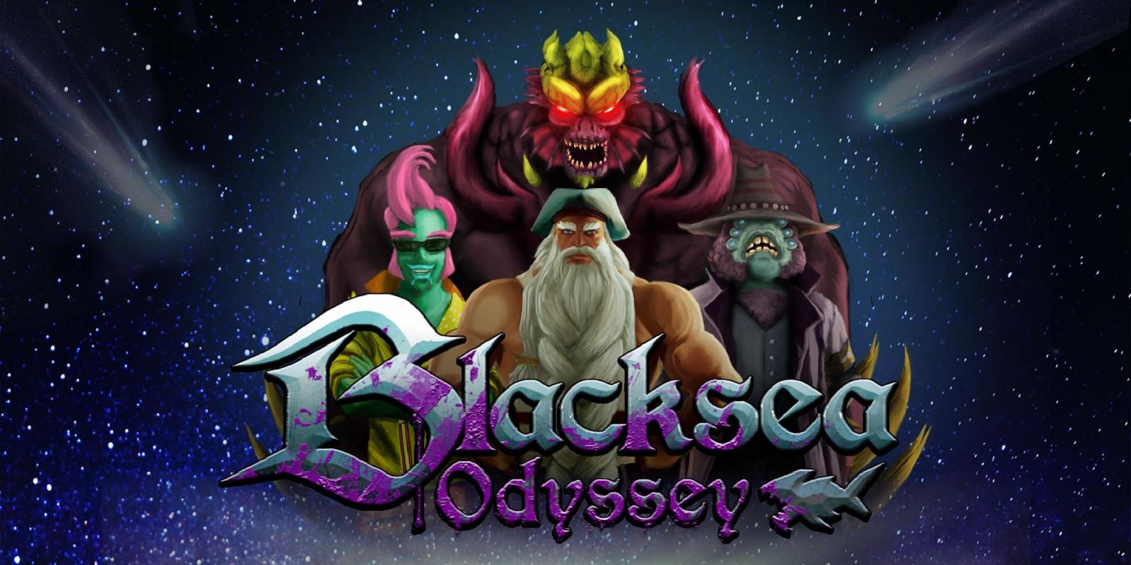 Resultado de imagen de portada Blacksea Odyssey nintendo switch