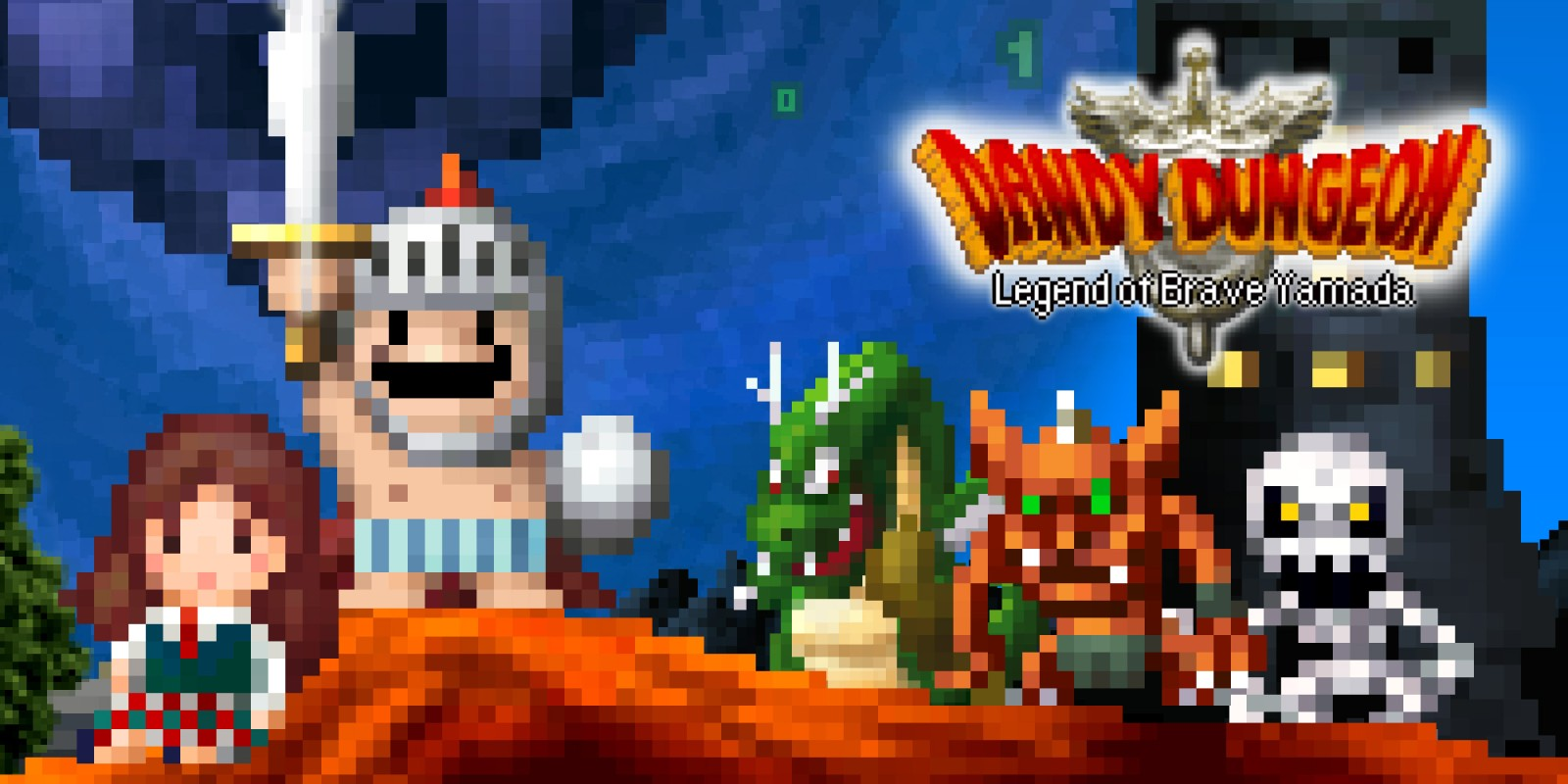 Dandy Dungeon - Legend of Brave Yamada -
