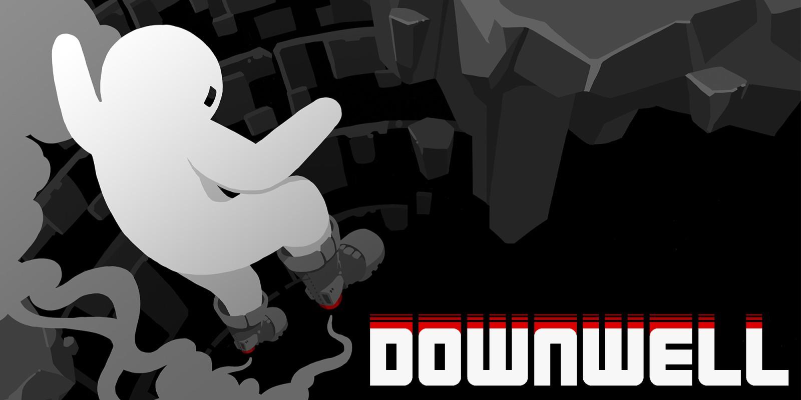 Resultado de imagen de portada Downwell Nintendo Switch