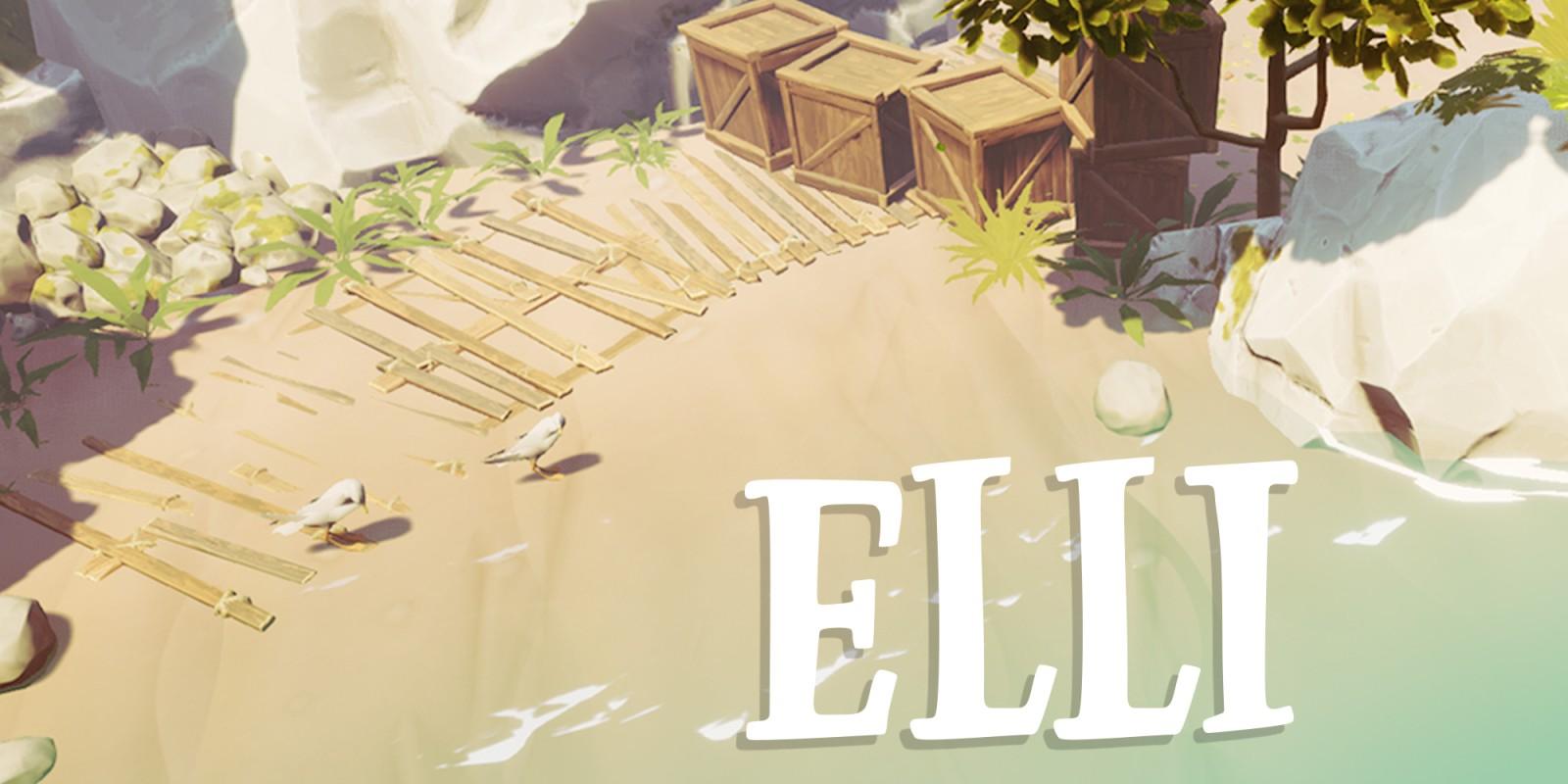 Resultado de imagen de portada videojuego Elli nintendo switch