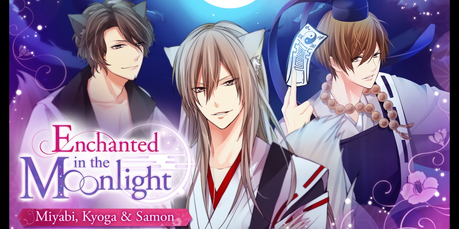 Enchanted in the Moonlight - Miyabi, Kyoga & Samon -