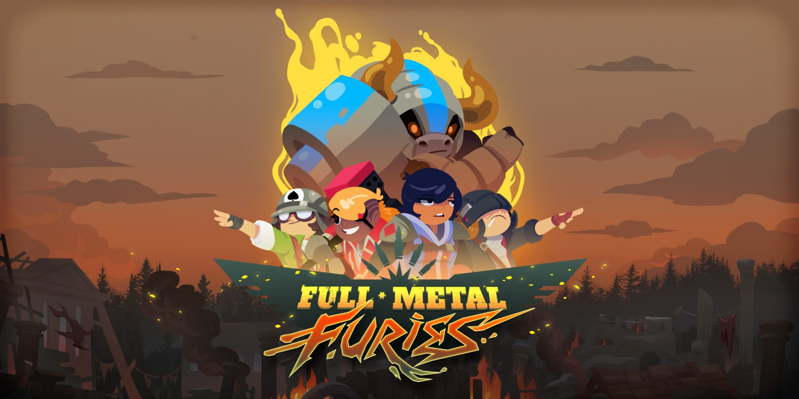 Full Metal Furies Nintendo Switch Download Software